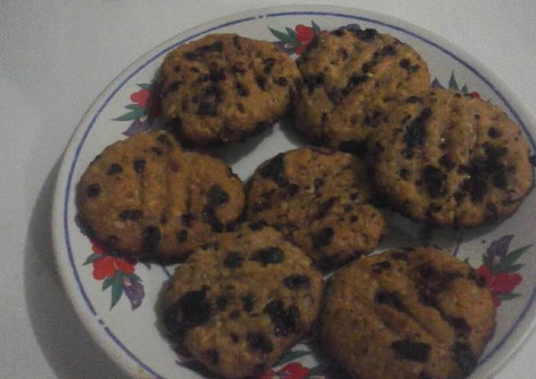 Oatmeal choco-milo cookies