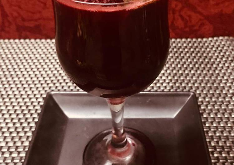 Beetroot, Carrot and ginger juice