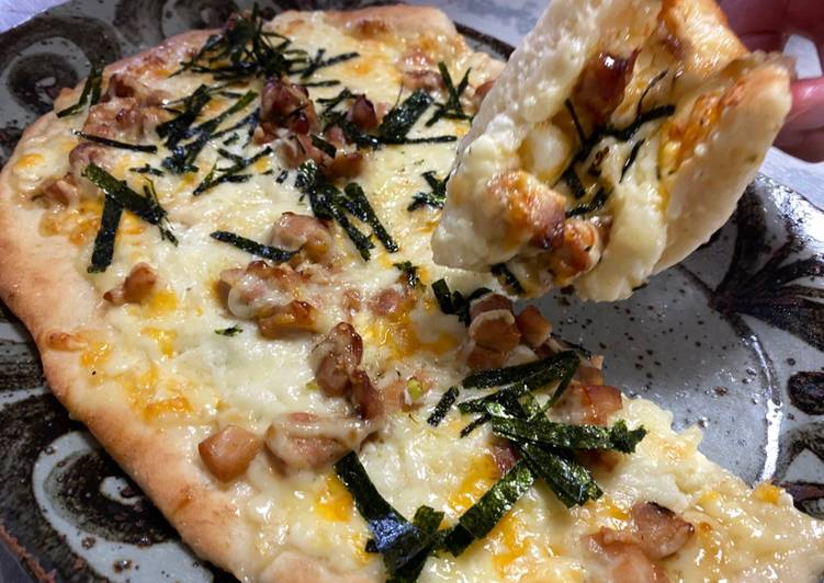 Recipe: Perfect Teriyaki Mayo Chicken Pizza