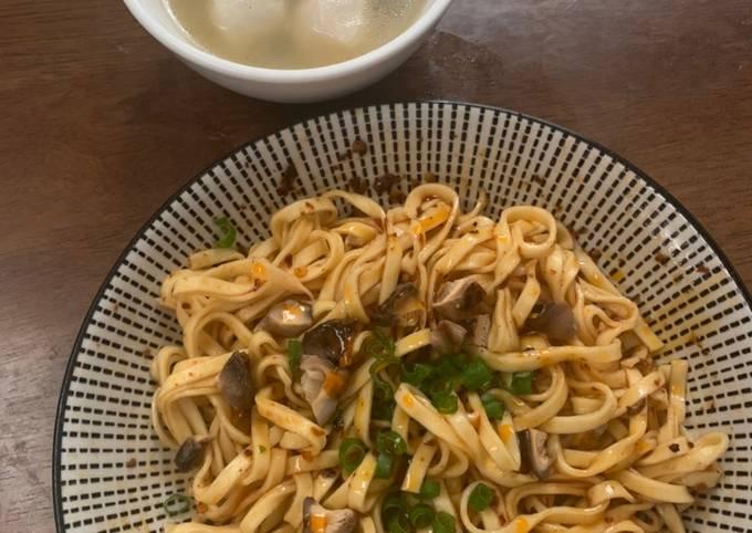 Fish Ball Noodles / Mee Pok ala Singapura