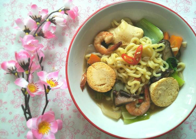 How to Cook Yummy Mie Sapo Tahu (Claypot Tofu with Noodles)