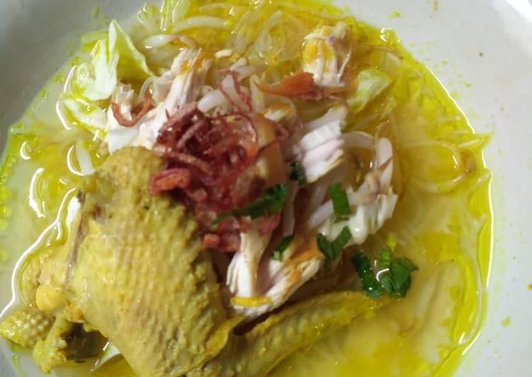 Soto Kuning Bening (tanpa santan)
