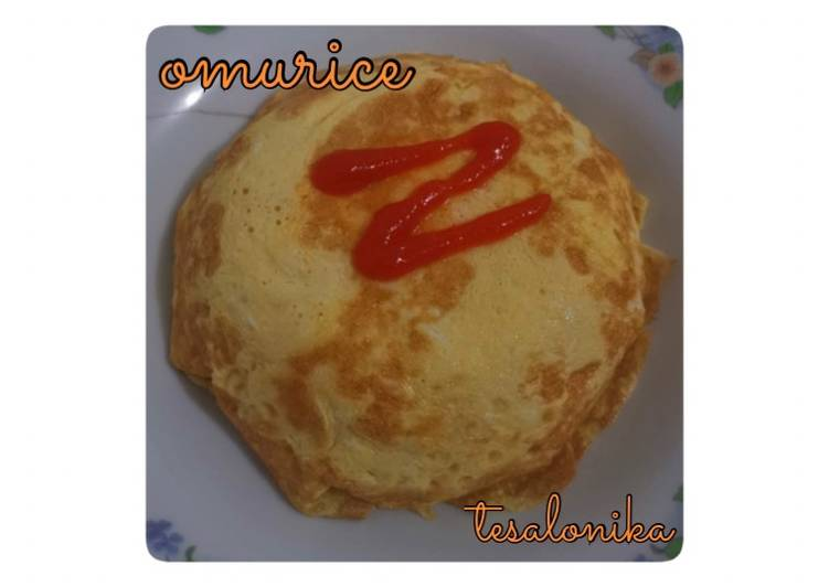 Resep Omurice 🍚 Top