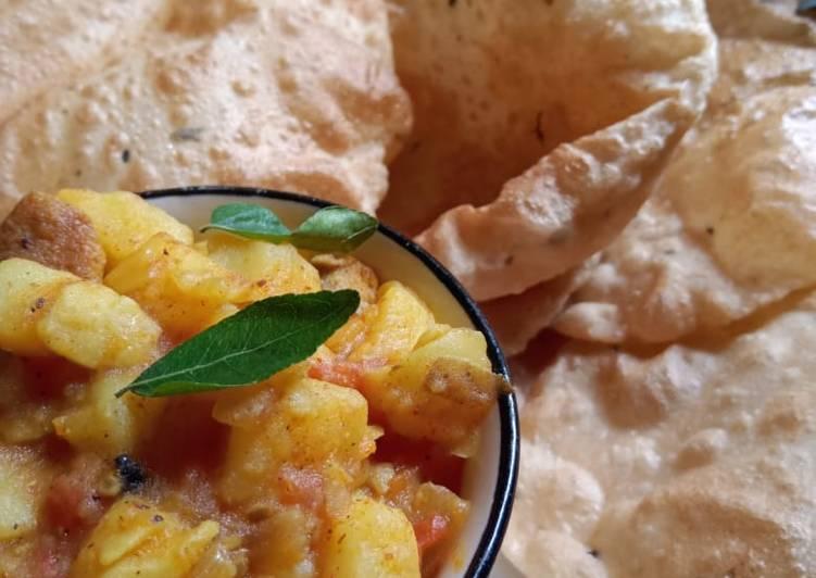 Simple Way to Prepare Quick Aloo Puri