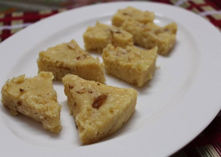 How to Make Any-night-of-the-week Khoya Burfi (Barfi)
