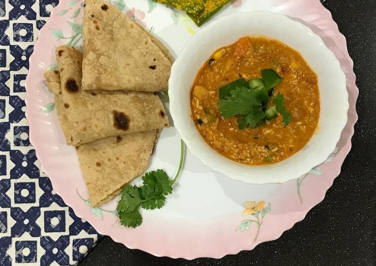 Going Green for Greater Health By Dining Superfoods, Vegetable curry sabji