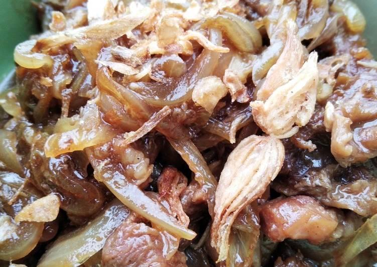 Beef Teriyaki (versi simpel)