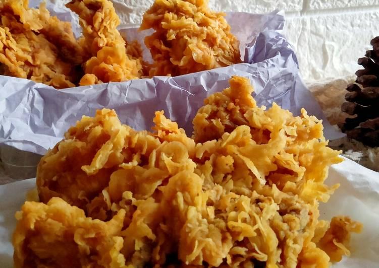 🌸Ayam Goreng Keriting Ala KFC