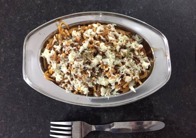 What are some Dinner Easy Homemade Cheese Masala Noodles