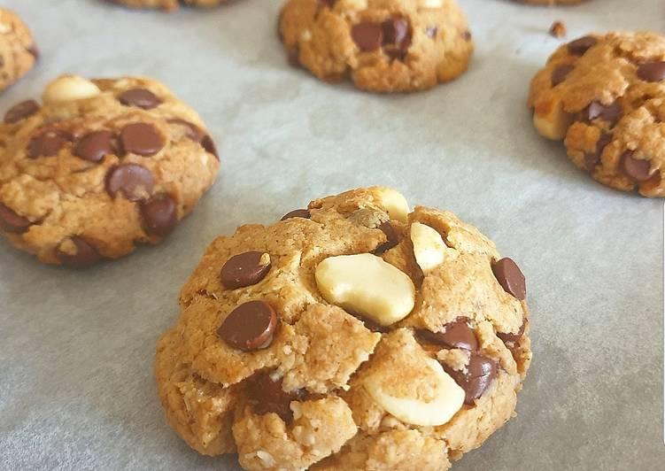 Cookies aux pépites de chocolat et macadamia