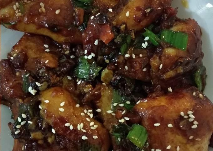 Honey garlic Fish #jemonkhusirado#Rina2