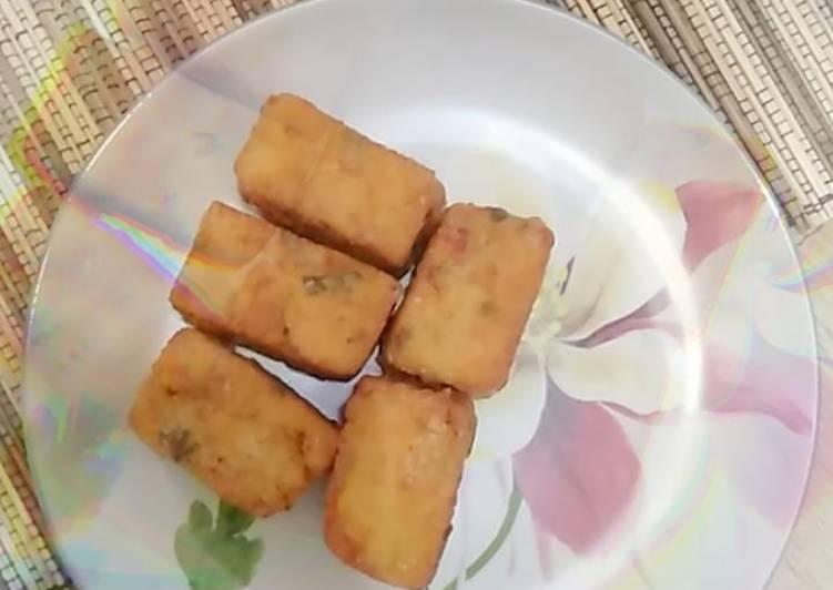 Perkedel tahu sayur kureng (kukus goreng) - cookandrecipe.com