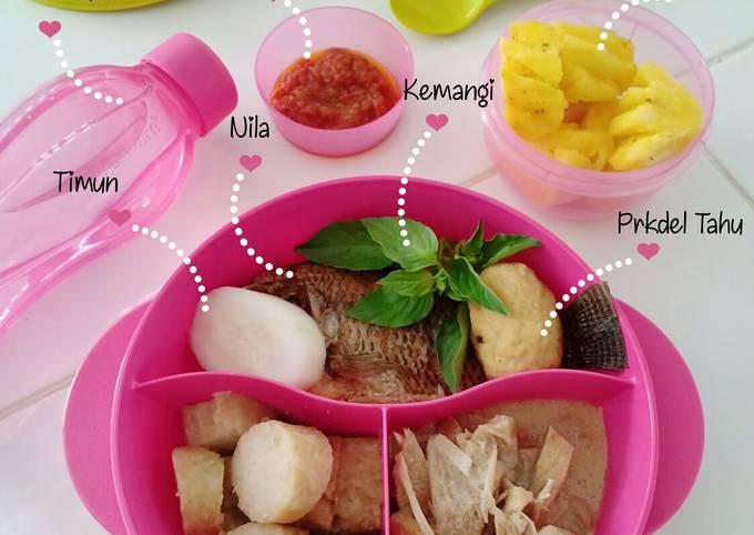 Nasi Bekal (Bento) Sayur Nangka