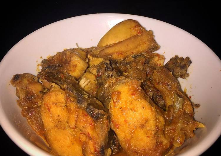 Ayam balado gula merah