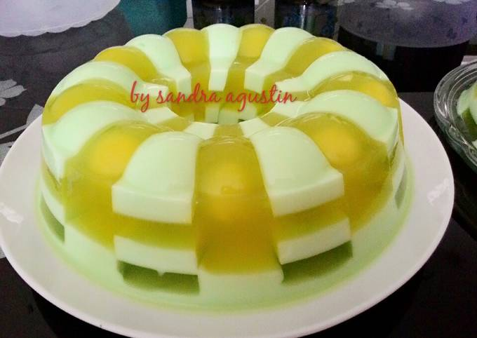 Puding Domino Melon Markisa