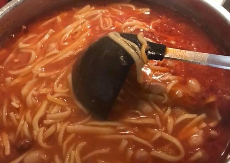 Ricetta Tajarille e fagioli