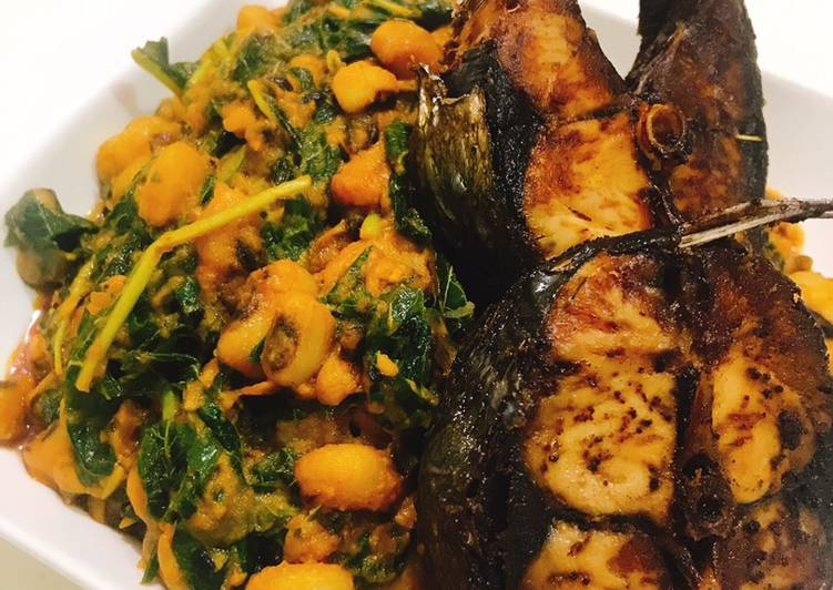 Steps to Prepare Award-winning Vegetable beans and fried fish