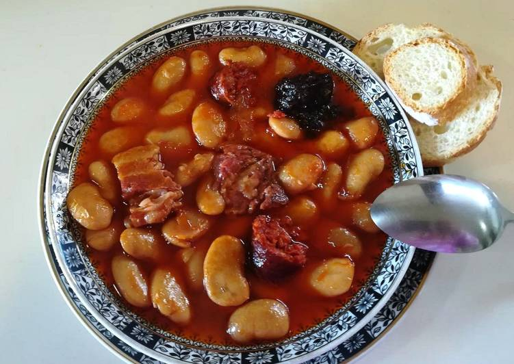 Fabada Con Judiones De La Granja Receta De Ni Uman Cookpad