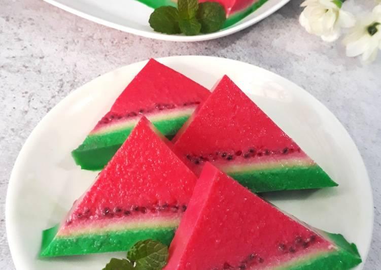 Puding Semangka
