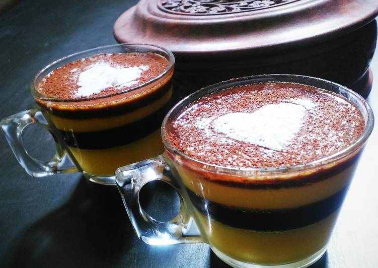 Mango Chocolate jello shots