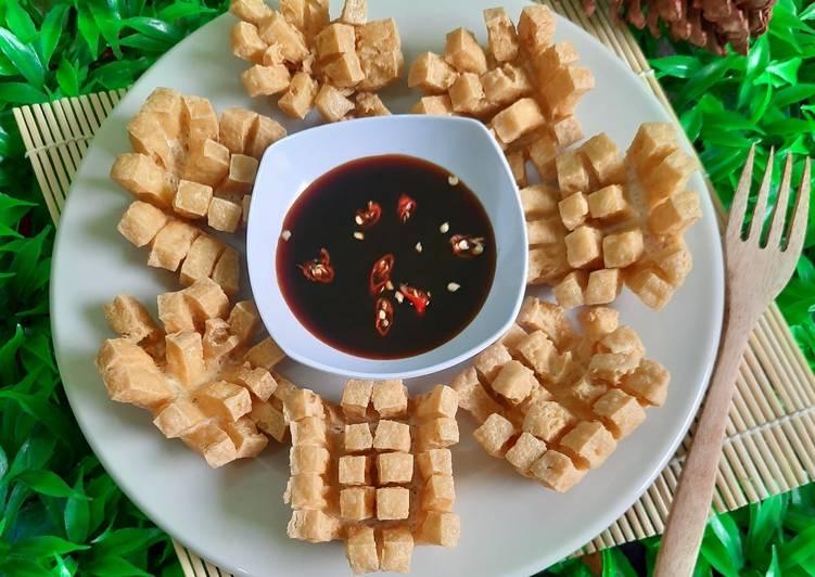 Tahu Susu Mekar (Blooming Tofu)
