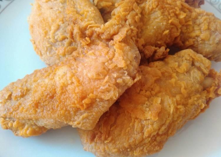Langkah Mudah Untuk Membuat Ayam Goreng Tepung Bikinramadanberkesan Anti Gagal Resep Masakanku