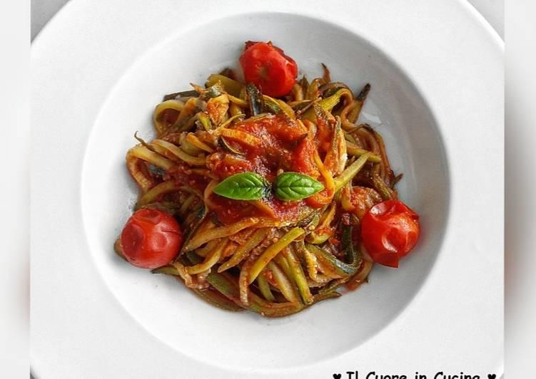 Spaghetti di zucchina