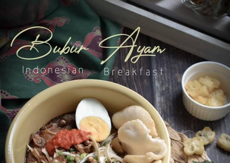 Bubur Ayam/ Bubur Nasi Sempoi - resepipouler.com