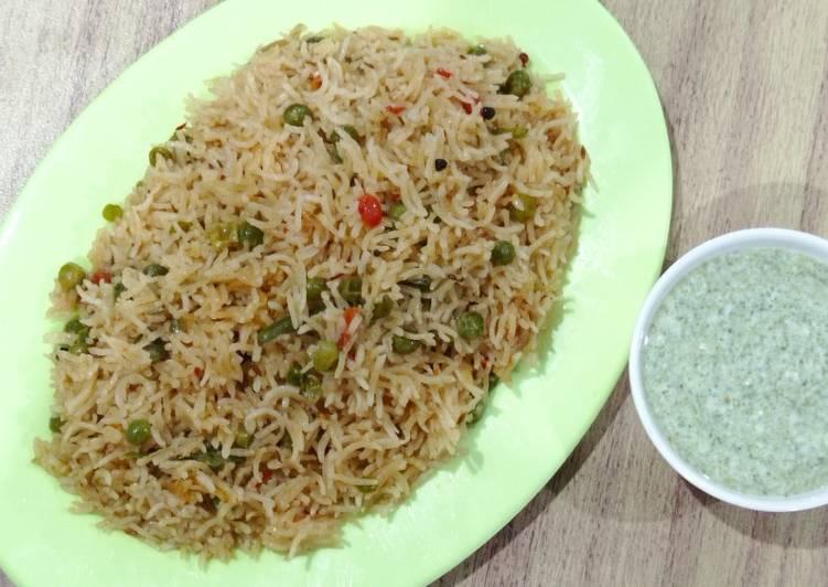 Use Food to Improve Your Mood Matar pulao