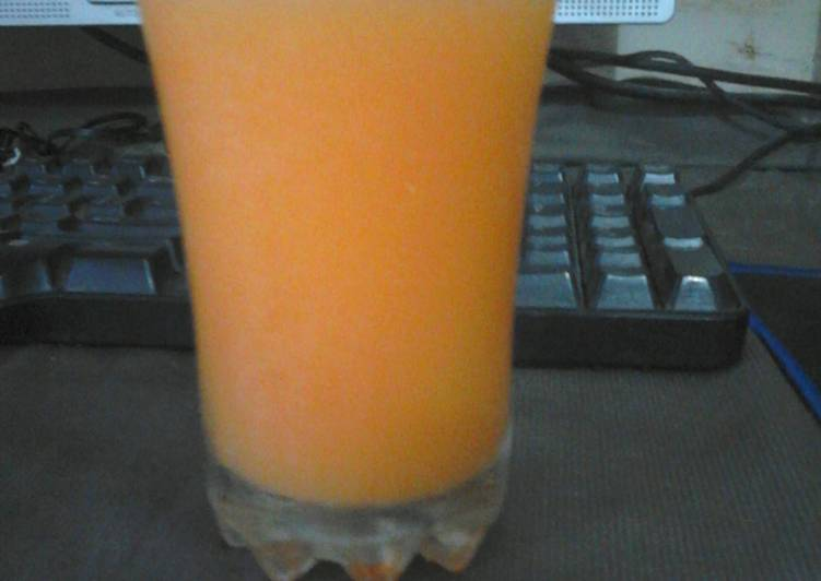 Great summer mango juice