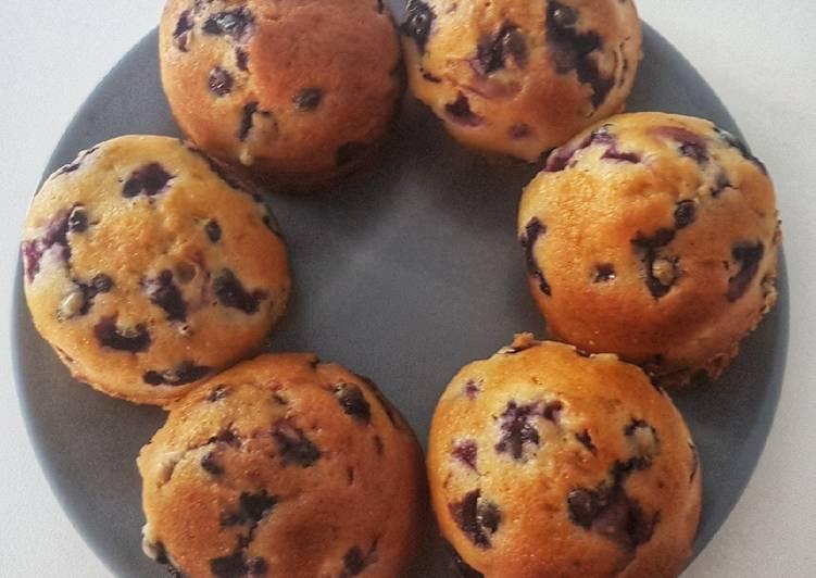 Comment Préparer Les Muffins myrtilles sauvages