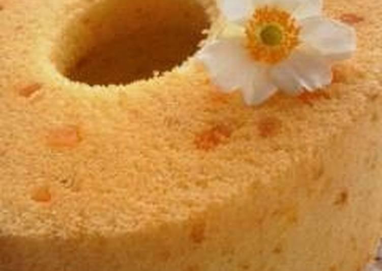 Orange Chiffon Cake - Laurie G Edwards