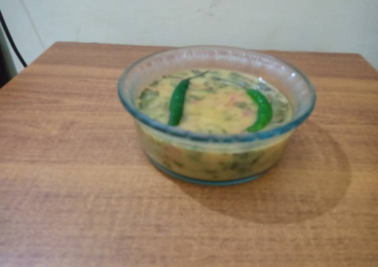 5 Minute Steps to Prepare Quick Daal palak