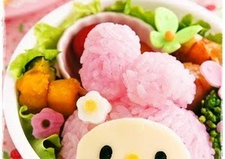 Recipe of Award-winning Easy! My Melody Onigiri For Charaben (Decorative Bentos)