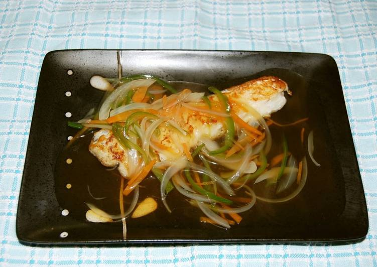 Simple Way to Prepare Favorite Easy to Make ・・Cod with Vegetable An-Sauce