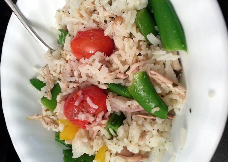 Greek Lemon Chicken Rice