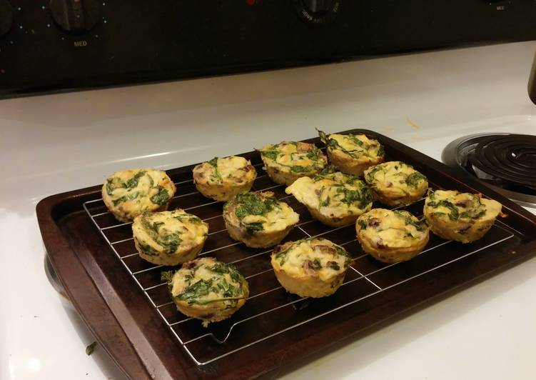 How to Cook Tasty Low carb veggie egg muffin