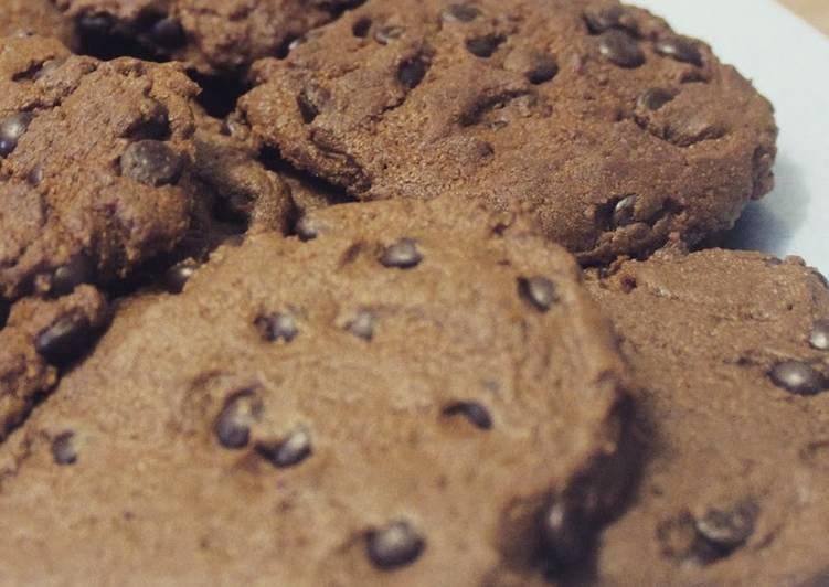 Double Choco Cookies