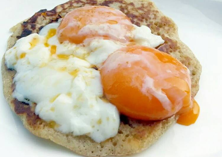 Pancake With Egg Breakfast