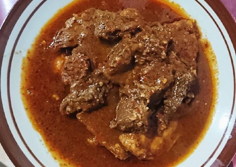 Tahu Dan daging bumbu bali