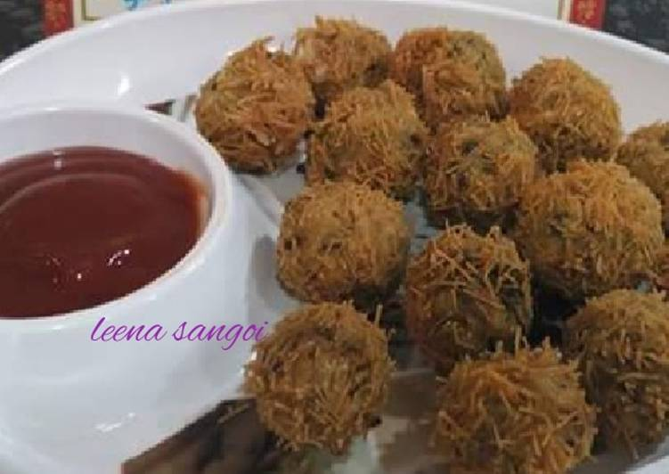 Recipe: Perfect Moong dal millet vermicelli balls