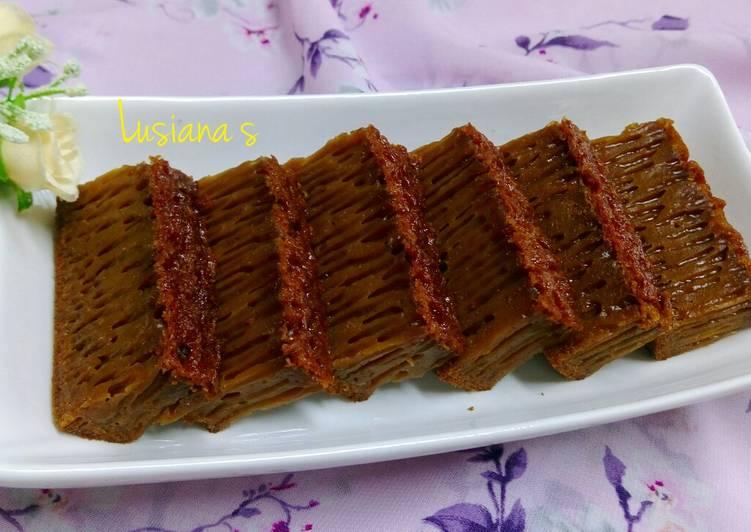Resep Bolu Karamel Sarang Semut Anti Gagal Oleh Lusiana S