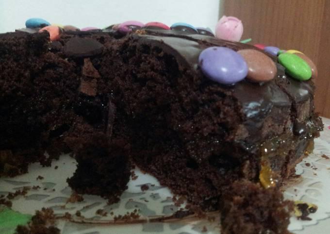 AMIEs Almond Brownie Cake