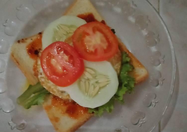 Sandwich isian kebab