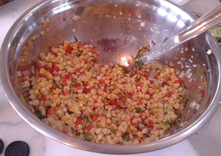 Easiest Way to Prepare Appetizing Corn summer salad