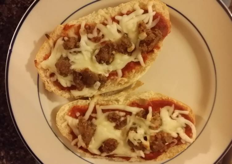 Simple Way to Make Homemade Taisen's easy week night pizza
