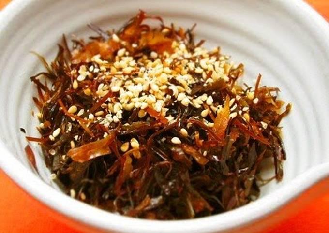 Dashi Kombu Side Dish - Enjoy With Rice or as a Snack