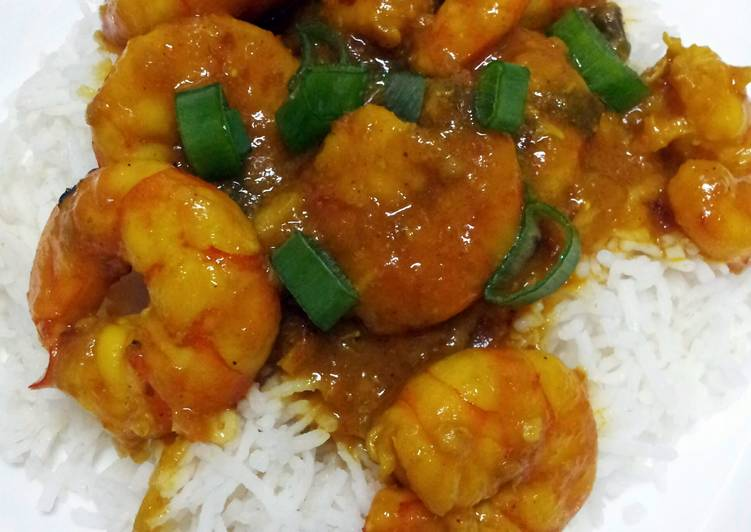 Curry Shrimp by Pam…