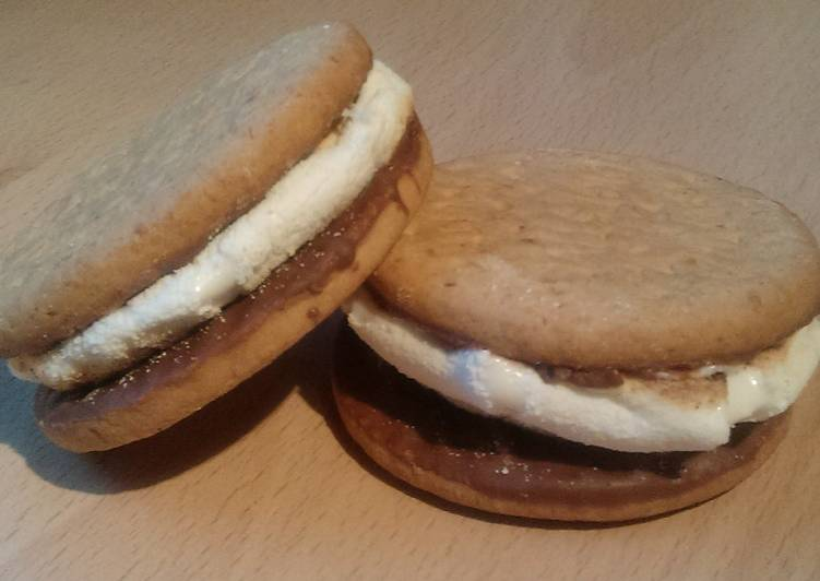 Easiest Way to Make Favorite Vickys British S'mores - Cheats Version plus Free From Version