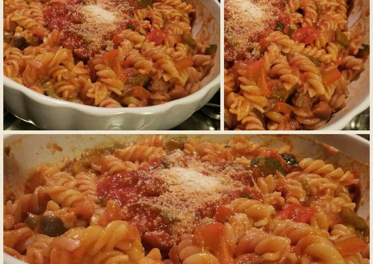 Easiest Way to Make Speedy AMIEs Pasta with Vegetables